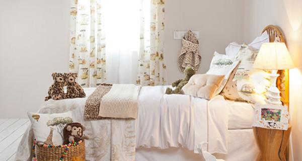 Fabulous idee per arredare la camera dei bambini tende per camerette dei bambini idee cameretta - Zara home letto bambino ...