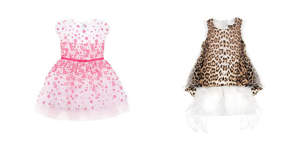 Abiti Simonetta e Roberto Cavalli Junior per Petit Parade e Little Sparkling Moments