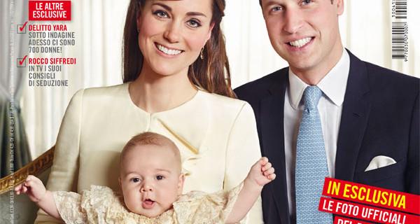 Tutte le nuove foto del Battesimo del Principe George, il figlio di Kate e William