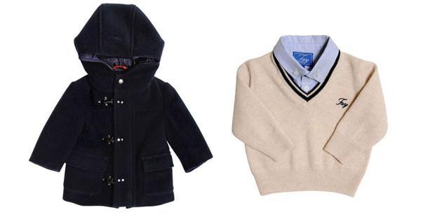 Collezione Fay Junior autunno inverno 2013: classe e stile anche per bambini [Foto]