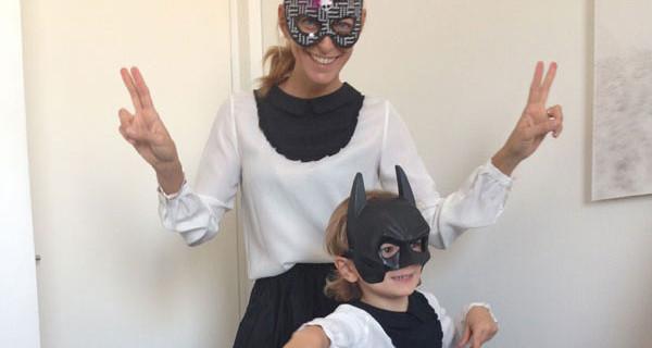 Federica Fontana e sua figlia vestite uguali per la notte di Halloween [Foto]