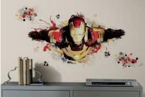 Iron Man 3: lo sticker per le pareti della cameretta dedicato al supereroe Marvel