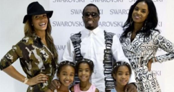 Le figlie di P. Diddy modelle a 7 anni. Il loro debutto sulle passerelle di New York