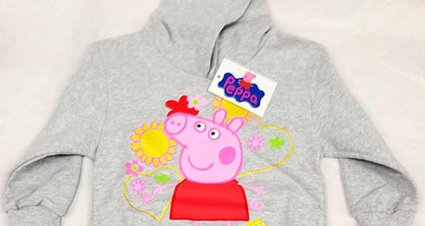Felpa di Peppa Pig per bambina: ecco i colorati modelli per l'inverno [Foto]