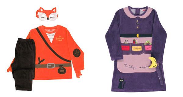 I pigiami per bambini di Du Pareil au Meme per la notte di Halloween