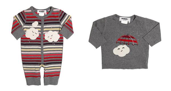 Sonia Rykiel Enfants: abiti per neonati dai disegni vivaci e colorati