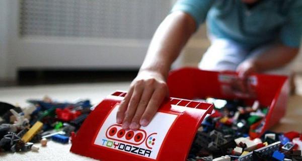 Toydozer: la soluzione per ordinare i giocattoli in modo divertente