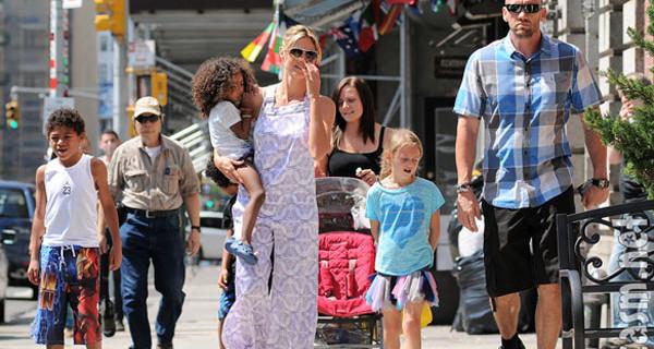 Heidi Klum incinta del quinto figlio: lei e la sua ex guardia del corpo avranno un bambino