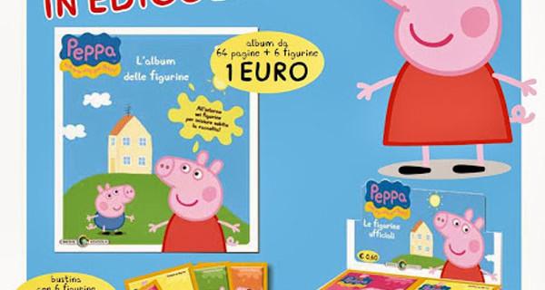 L'album di figurine di Peppa Pig: dove trovarlo e quanto costa