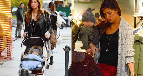 Belen e il piccolo Santiago inseparabili: eccoli mentre fanno shopping [Foto]