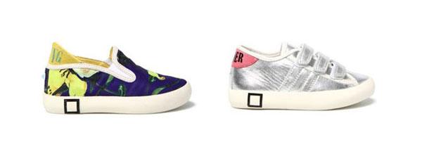 D.A.T.E. Kids presenta le nuove scarpe della collezione Primavera Estate 2014