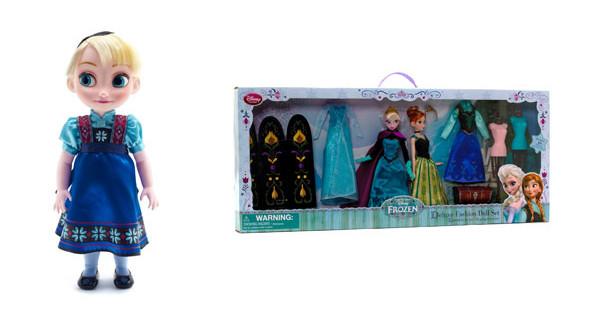 Aspettando Frozen, ecco le proposte Disney Store per Natale: bambole e portamonete per bambine