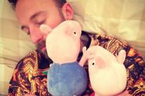 Francesco Facchinetti e il suo amore per Peppa Pig