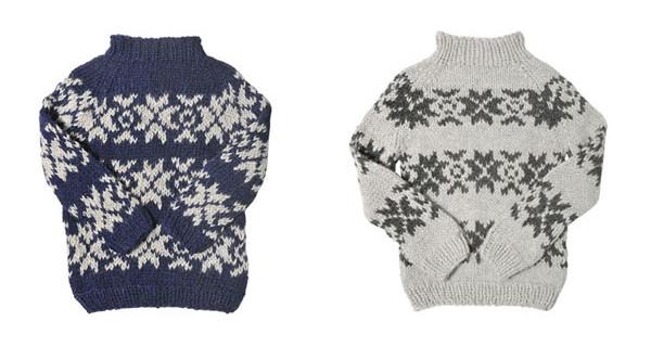 I pullover per bambini fatti a mano di Gudrun & Gudrun [Foto]
