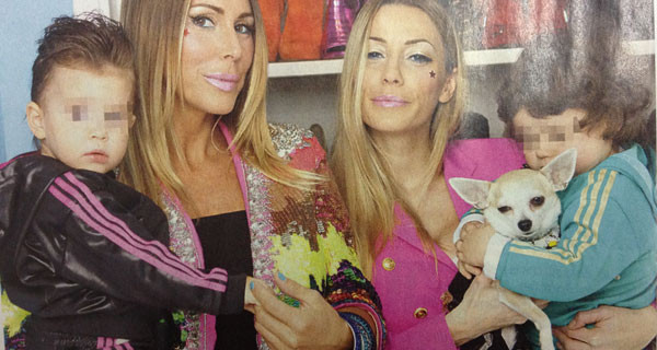 "Karina Cascella e Guendalina Canessa: ""Le nostre bimbe Ginevra e Chloe sono come sorelle"""