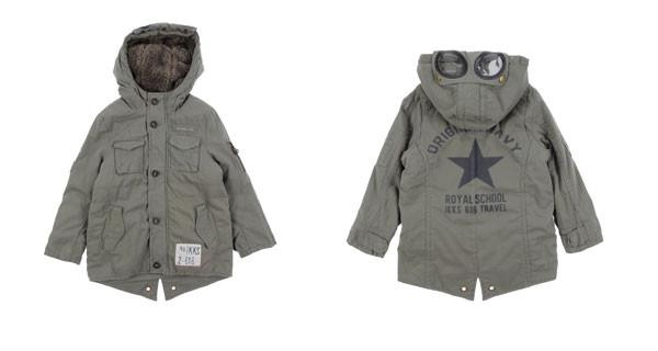 IKKS presenta il giaccone per bambino perfetto per l'inverno