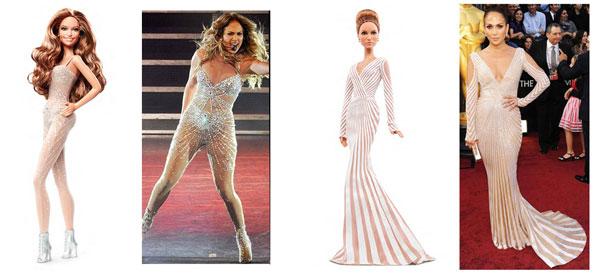 Jennifer Lopez diventa una Barbie: la collezione di fashion dolls dedicata a lei