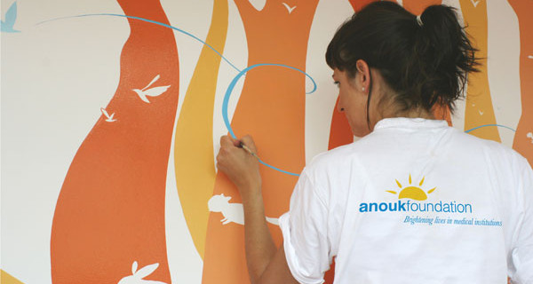 Petit Bateau e Anouk Foundation insieme per rendere gli ospedali più allegri e accoglienti