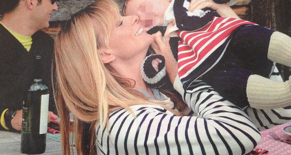 Serena Autieri e la sua gioia di essere mamma: eccola insieme a Giulia Tosca [Foto]