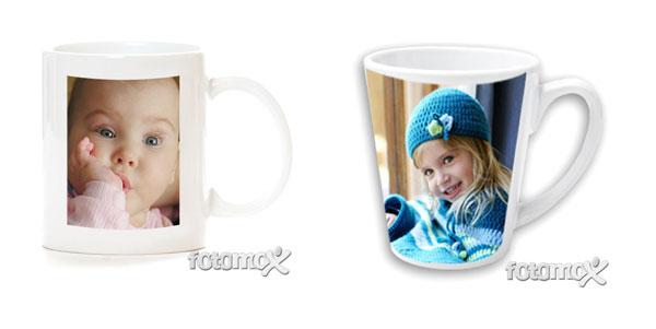 Regali di Natale: le tazze di Fotomox personalizzabili con le foto dei vostri bimbi