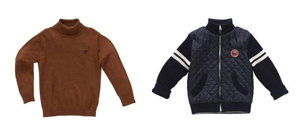 Dolcevita e giacca di Timberland per bambini: perfetti per Natale!