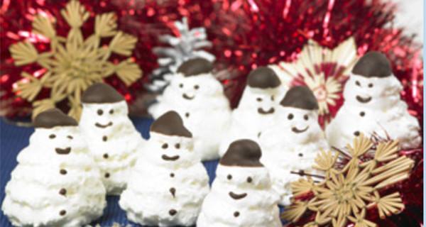 I Pupazzetti di neve: un dolce gustoso ed ideale per il periodo Natalizio
