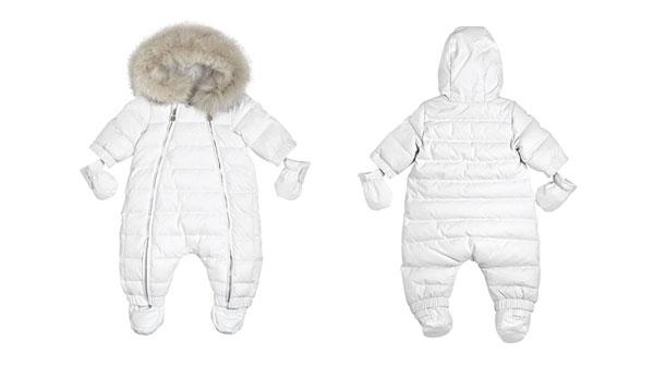 info for 9bbf0 0f055 Piumino in techno nylon di Baby Dior: perfetto per neonati ...