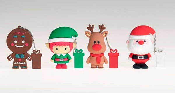 Chiavette USB Christmas firmate Tribe: perfette per Natale!