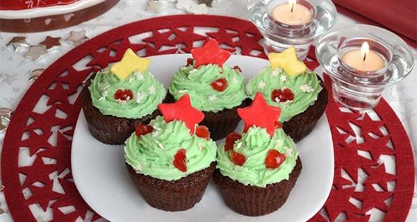 Ecco la ricetta dei Cupcakes di Natale: per delle feste all'insegna della dolcezza