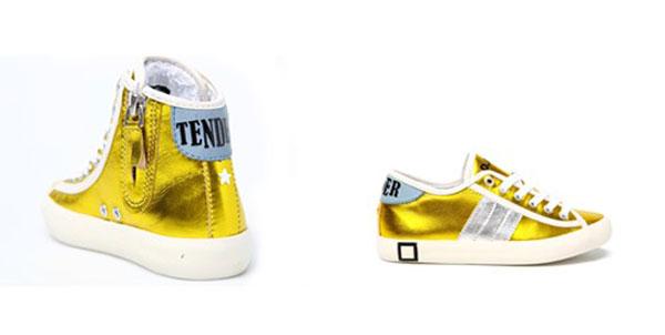 Nuove sneakers di D.A.T.E. kids: colori laminati come carte di caramelle [Foto]