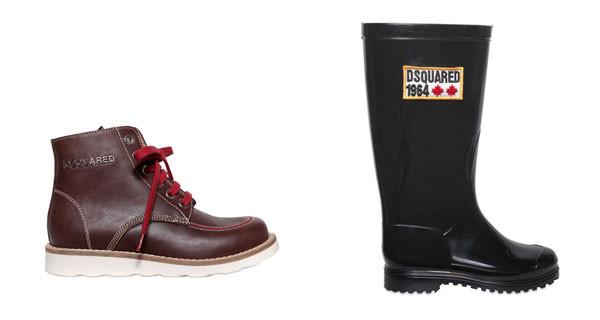 Dsquared Kids: le scarpe da bambino della nuova collezione