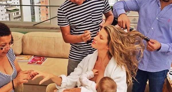 Gisele Bundchen super mamma e super modella: ma come fa a far tutto? La foto di Instagram