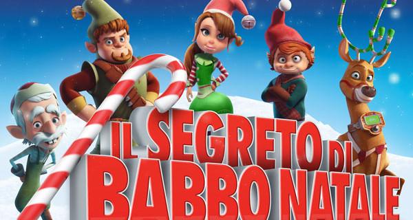 Film natalizi per bambini: Il Segreto di Babbo Natale al cinema dal 12 dicembre. Trailer