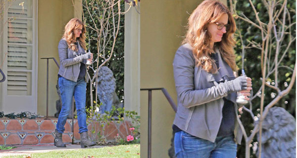 Julia Roberts, 46 anni e tre figli, è incinta? Le foto sospette
