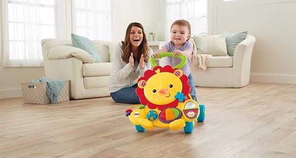 Leo il Leone Primi Passi: perfetto per i bimbi che muovono i loro primi passi