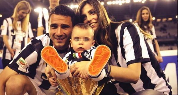 Leonardo Bonucci papà per la seconda volta: lui e Martina Maccari avranno un bambino