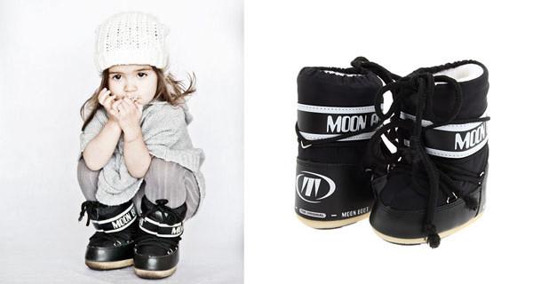 Moon Boot per bambino: dopo gli scarponcini anche una linea di abbigliamento