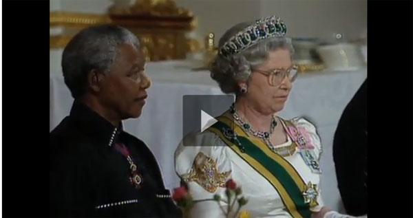 Queen Elizabeth II and her memory of Nelson Mandela [Video]