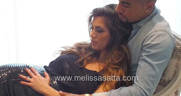 """Melissa Satta incinta: """"Dopo la nascita di nostro figlio, io e Kevin Boateng ci sposiamo"""""""