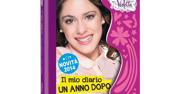 """Sei davvero una fan di Violetta? Partecipa al gioco e vinci il nuovo libro """"Il mio Diario, un anno dopo"""""""