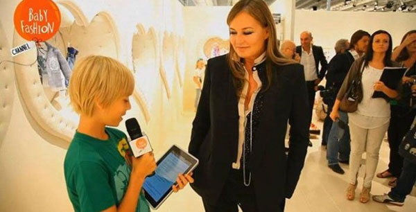 Baby Fashion e Fashion Channel presentano il primo canale Youtube dedicato al kidswear