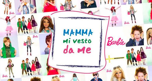 Pitti Bimbo: Barbie è la special guest del gioco-reality Mamma Mi Vesto Da Me