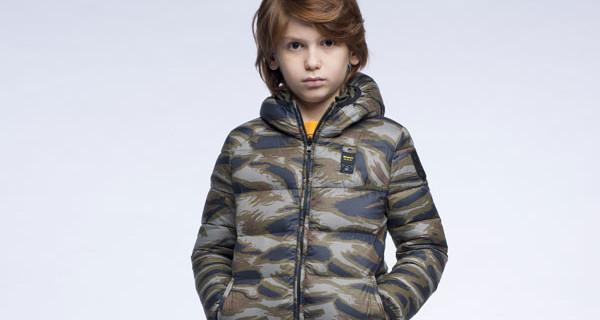 Blauer Junior collezione FW 2014: protagonista il piumino super leggero e caldissimo