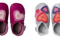 Bobux dedica ai genitori innamorati delle loro bimbe le nuove babbucce di San Valentino