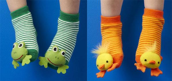 Calze antiscivolo per bambini con animali di peluche. Quali sono le più belle?
