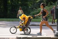 Correre con il passeggino: ecco le dritte per praticare questo sport con i bambini