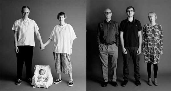 Famiglia americana in posa da ventun anni : ecco come si invecchia