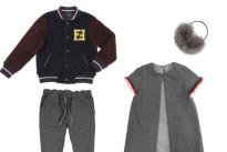 Fendi Kids a Pitti Bimbo con la collezione FW2014: color-blocking e grafismi inaspettati