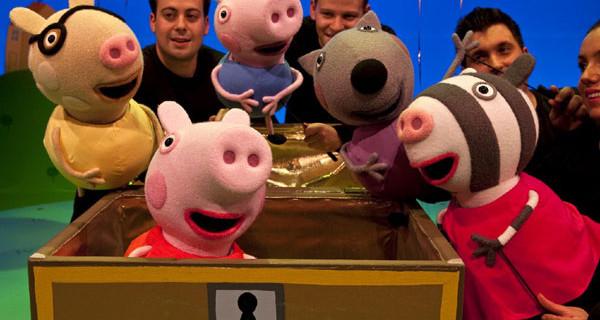 Peppa Pig arriva a Teatro: ecco tutte le date del 2014 da Roma a Milano