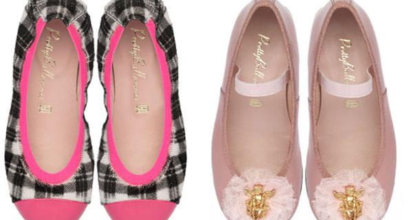 PrettyBallerinas for Princess a Pitti Bimbo presenta le nuove ballerine per bambine
